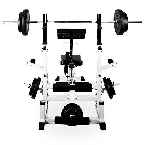 COMPLETO: Ideal para entrenamiento completo del cuerpo.