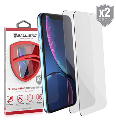 Ballistic-Tempered-Glass-Screen-Protector-Designed-for-iPhone-XR-2-Pack