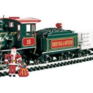 "Bachmann Trains – Night Before Christmas Ready To Run Electric Train Set – Large ""G"" Scale 41qmXVpcz3L"