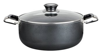 Aramco-Alpine-Gourmet-Aluminum-Non-Stick-Coating-Open-Stock-Dutch-Oven-18-quart-SilverGray