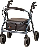 NOVA 18' Zoom Rollator Walker, Blue