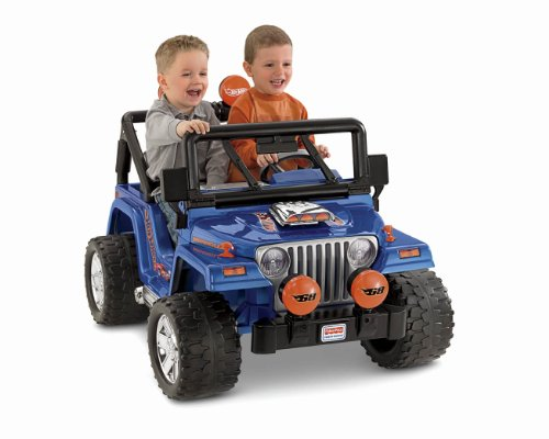 Power wheels hot wheels jeep wrangler antagongame for Hot wheels motorized jeep
