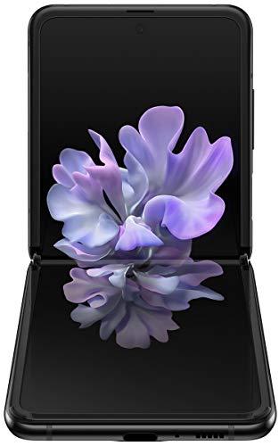 Samsung Galaxy Z Flip (Black, 8GB RAM, 256GB Storage)-Samsung T7 Touch 1TB USB 3.2 Gen 2 (10Gbps, Type-C) External Solid State Drive (Portable SSD) Silver (MU-PC1T0B) 5