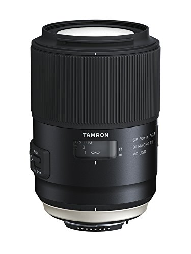 Tamron AFF017N700 SP 90mm F/2.8 Di VC USD 1:1 Macro for Nikon Cameras (Black)