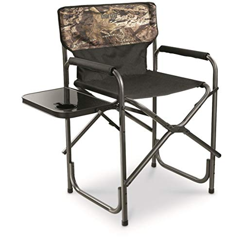 Guide Gear Oversized Tall Director's Chair, 500 lb. Capacity, Mossy Oak Break-Up Country