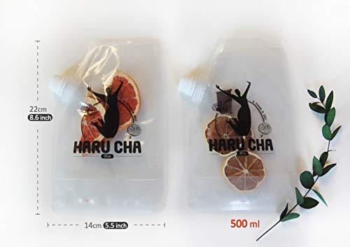 Detox Tea, Vegan Juice, Cleanse, 4days Water - 100% Natural, No Sugar Added, Weight Loss, BPA Free | Haru Cha (Orange/Beet) 8