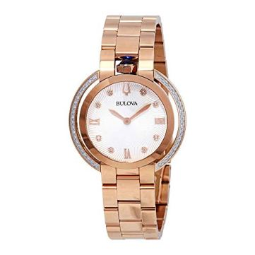 Bulova Women's Rubiayat - 98R248 Rose Gold One Size