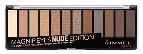 Rimmel Magnif'eyes Eye Palette, Nude Edition, Pack of 1