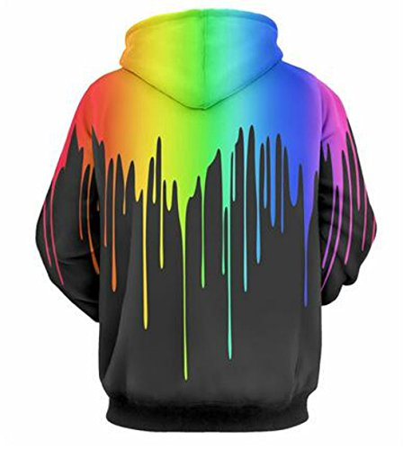 GLUDEAR Unisex Realistic 3D Digital Print Pullover Hoodie Hooded Sweatshirt 15 Fashion Online Shop gifts for her gifts for him womens full figure