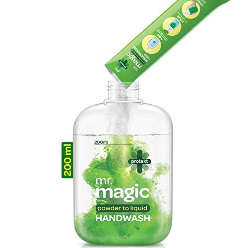 41rMiR2NSWL - Godrej Protekt Mr. Magic Powder-to-Liquid Handwash Refill, (makes 200ml)