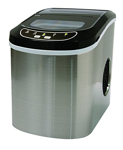 Stainless Steel 26 Lbs Counter Top Ice Maker