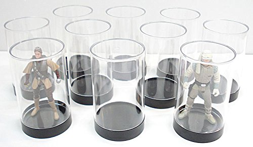 Protech Acrylic Small Cylinder Display Case for Star Wars, GI Joe and Other Q...