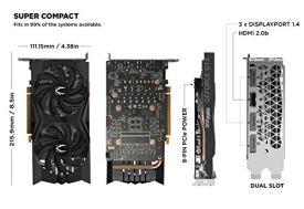 ZOTAC-Gaming-GeForce-GTX-1660-6GB-GDDR5-192-bit-Gaming-Graphics-Card-Super-Compact-ZT-T16600K-10M