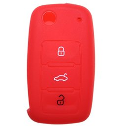 3-Bouton-tui--rabat-Coque-de-cl-plip-Bouton-en-couleur-avec-marquage-pour-VW-Golf-Passat-Bora-New-Beetle-Jetta-Touran-Fox-Polo-Scirocco-EOS-SHARAN-Tiguan-Touareg-phateon-Caddy-T5-Amarok-LUPO-Seat-Alte