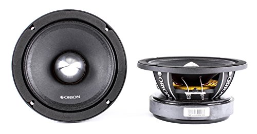 Orion XPM658MBF XTR Pro 6.5-Inch Pro Audio Midrange Speakers with Grill 1300W Max Power - Pair