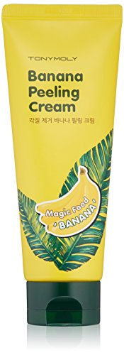 Fresh banana ingredient gives dead skin removal and massage effect Moisture banana and peeling cream gives skin nutrition massage peeling Gives rough dead skin glowing moisture for bright hydrated skin 4. Yogurt ingredient in cream gives massage effect for soft skin