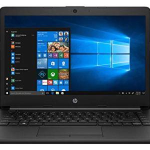 HP 14 10th Gen Intel Core i5 14-inch HD Laptop (i5-10210U/8GB/512GB SSD/Win 10/MS Office/Win 10/Jet Black/1.5 kg), 14…