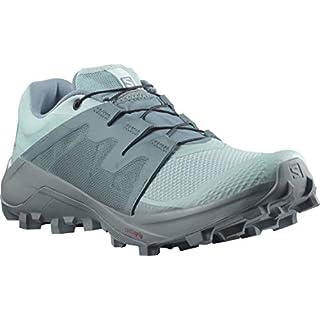 Salomon Women's WILDCROSS GTX W Trail Running Shoe, Pastel Turquoise/Pastel Turquoise/Trooper Best Women's Trail Running Shoes 2020