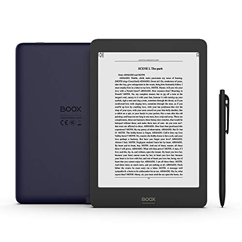 BOOX Nova Pro 7.8 E-Reader, Front Light, Dual Touch, Flush Glass Screen, 2G 32G Android 6.0