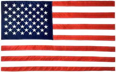 Amazon.com : Valley Forge, American Flag, Cotton, 3' x 5', 100% Made in  USA, Sewn Stripes, Embroirdered Stars, Heavy-Duty Brass Grommets : Outdoor  Flags : Garden & Outdoor