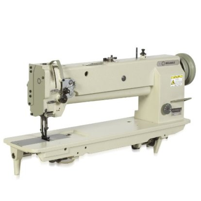 B0015VH4ZW Reliable MSK-8400BL-18 18-Inch Long Arm, Single Needle Walking Foot Sewing Machine with Sewquiet Servomotor