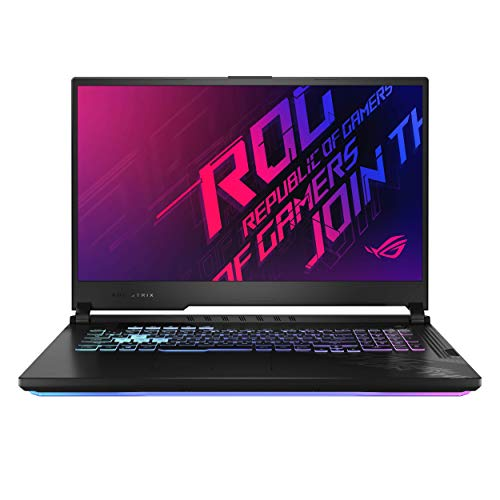 ASUS ROG Strix G17 17.3″ FHD 120Hz Intel Core i7-10750H 10th Gen, GTX 1660Ti 6GB Graphics (16GB RAM/512GB NVMe SSD/Windows 10/Original Black/2.83 Kg), G712LU-H7015T