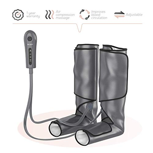 Sedona Leg Massager Circulation Device - Rechargeable Foot Sequential Air Compression Machine, Calf...