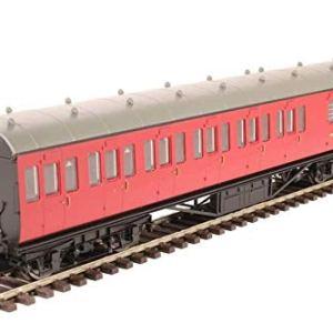 Hornby R4801 BR Stanier Non-Corridor 57′ Third Class Brake Coach, Multi 41rlXQdPC1L