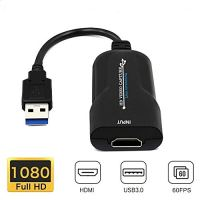 Idealforce Capture Cards, HDMI to USB 2.0 Video Capture, 1080P Full HD 30FPS Recorder Facebook Webcam Live Streaming for…