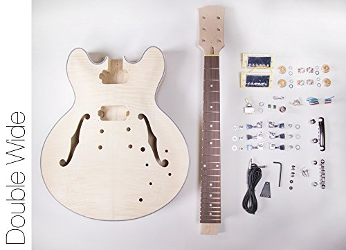 DIY Electric Guitar Kit ? 335 Style Build Your Own Guitar Kit