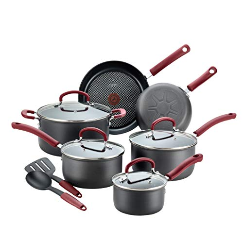 T-fal B003SC63 All-In-One Cookware Set, 12-Piece, Black