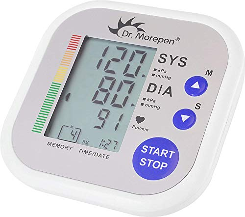 Dr-Morepen-Bp02-Automatic-Blood-Pressure-Monitor-White