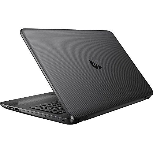 High Performance HP 15.6' Laptop PC AMD A6-7310 Quad-Core Processor 4GB RAM 500GB HDD AMD Radeon R4 Graphics DVD-RW HDMI WIFI HDMI Webcam DTS Audio Windows 10-Black