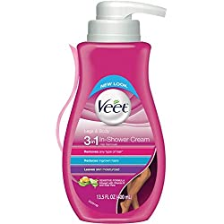 Veet Gel Hair Remover Cream, Sensitive Formula, 13.5 Ounce (Pack of 2)