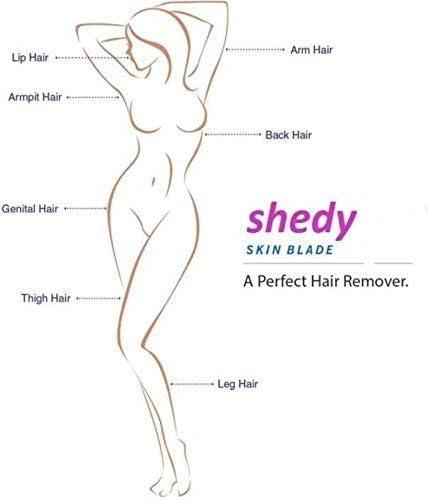Bulling Hair Removal Manual Safety Razor for Women And Disposable Body Shaving Bikini Razor With Safety blade Use girls shaving set razor. (6 Blades Combo) 19