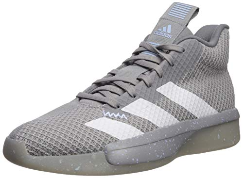 adidas Men's Pro Next 2019 Basketball Shoe Light Onix/White/Glow Blue 11.5 M US