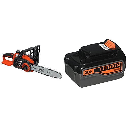 BLACK+DECKER 20V Max Lithium Ion Chainsaw