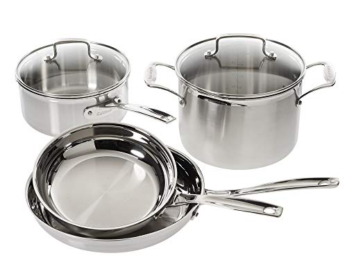 Cuisinart Multiclad Pro Stainless Steel 6-Piece Cookware Set 1