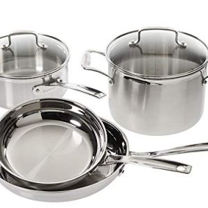 Cuisinart Multiclad Pro Stainless Steel 6-Piece Cookware Set 10