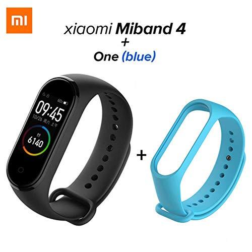 NMSLA Xiaomi Mi Band 4 Fitness Tracker 50m Waterproof Smart Band Smartband OLED Display Touchpad Monitor Wristbands Bracelet 5.0 Standard Version