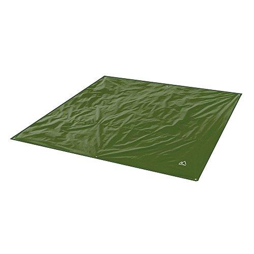 Terra Hiker Camping Tarp, Water Proof Picnic Mat, Mutifunctional Tent Footprint with Drawstring Carrying Bag for Picnic, Hiking (Dark Green 94