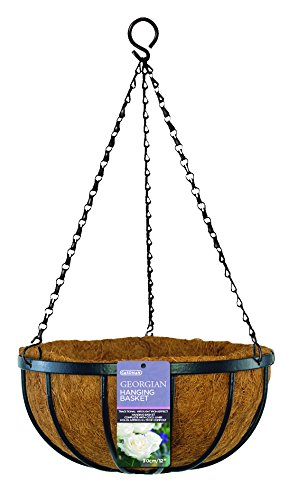 Gardman R212 Georgian Hanging Basket with Coco Liner, 16""
