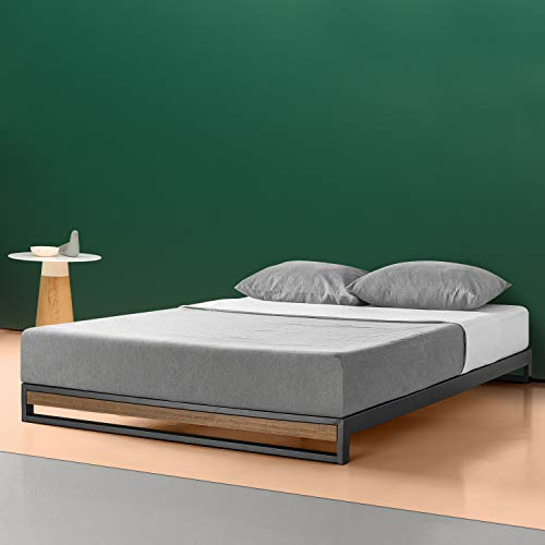 Zinus Suzanne 6 Inch Platform Bed without Headboard, Queen