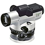 Huepar 32x Automatic Optical Level with Self-Leveling Magnetic Dampened Compensator, Height/Distance/Angle Measuring Tool, 393Ft Working Range, 1/16' at 100Ft Leveling Accuracy with Hard Case AL-32X