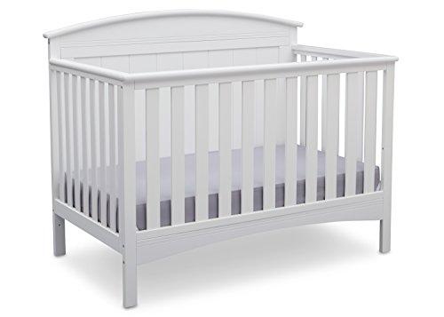 #8 - Delta Archer Solid Panel 4-in-1 Convertible Crib