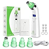Blackhead Remover Vacuum - Electric Pore Vacuum Cleaner Blackhead Extractor Tool Device Comedo Removal Suction Microdermabrasion Machine Beauty Device with LED Display for Facial Skin Treatment