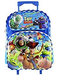 Disney Luggage with Wheels Full Size Toy Story 16in Rolling Backpack - Disney Luggage with Wheels