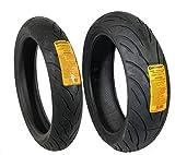CONTINENTAL MOTION Tire Set 120/70zr17 Front & 180/55zr17 Rear 180 55 17 120 70 17 2 Tire Set