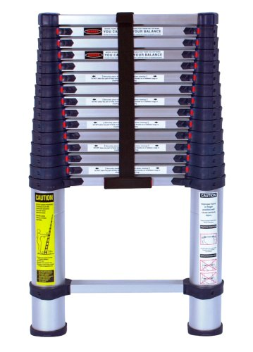 Xtend & Climb 785P Aluminum Telescoping Ladder Type I Professional Series, 15.5-Foot