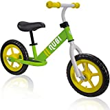 Nubi Sprint 12' Green & Yellow Kids Balance Bike